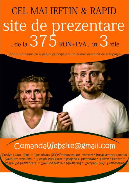 Cel mai ieftin website se poate comanda acum